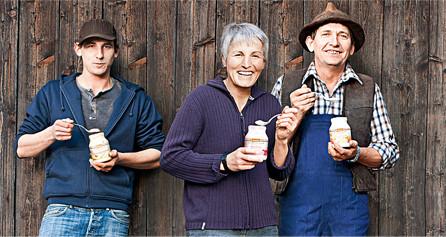 Milchprodukte; Die Schrozberger Bauern